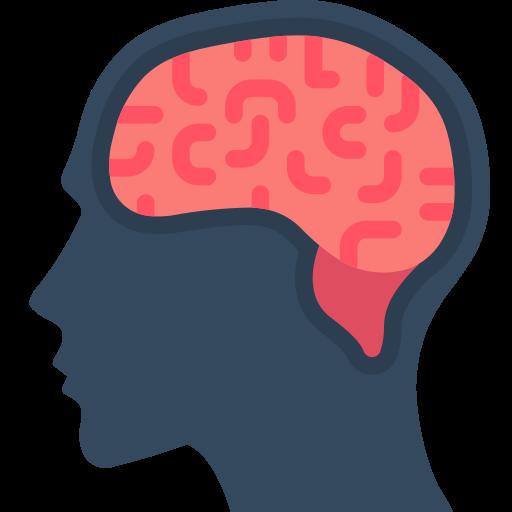 Brain image icon